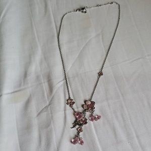 Swarovski tinkerbell necklace